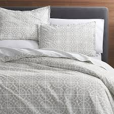taza grey twin duvet cover crate and barrel