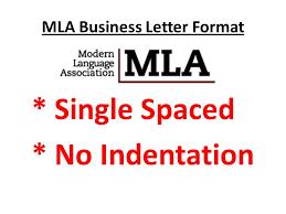 letter format mla mla business letter format ppt video online download