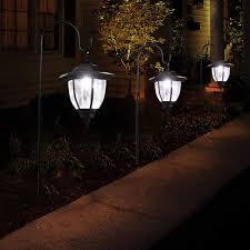 Outdoor Landscape Lighting Amazon Com 2pc Solar Garden Light Outdoor Waterproof Led