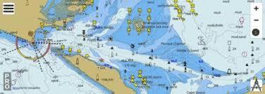 Rip Charts App Australia Victoria Port Phillip The Rip Marine Chart