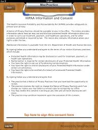 Clipboard - Hipaa Information And Consent Form – Macpractice Helpdesk