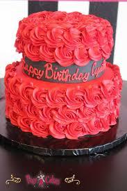 9 2 Tier Girl Birthday Cakes Photo Girly 2 Tier 21st Birthday Cake