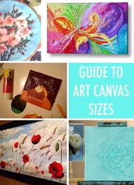 canvas sizes