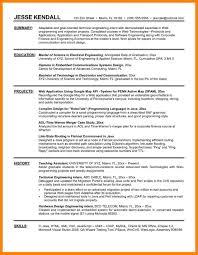 Resume Internship Sample Templates For Internses Internships