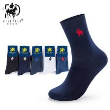 <b>Pier Polo New</b> Fashion Men's Dress Gift Socks Cotton Socks ...