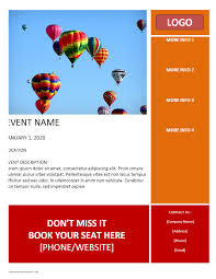 Powerpoint Flyer Template Event Flyer Template Powerpoint Free Templates Word Newsletter Ianswer 3