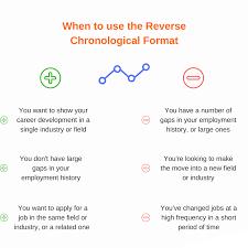 Functional Vs Chronological Resume Resume For Study
