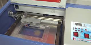 ridgeyard 40w co2 laser engraving machine in the use