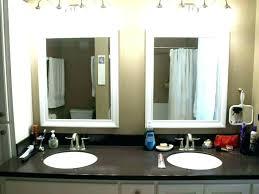 lighting behind mirror. Bathroom Mirror With Lights Behind Led . Lighting T