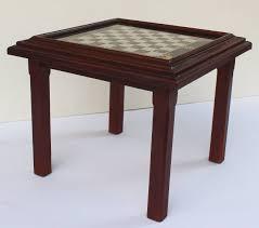 chess board coffee table rascalartsnyc