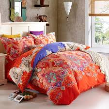 duvet covers 33 amazing design ideas red paisley bedding sets decorate with orange bed set lostcoastshuttle