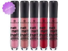 essence cosmetics matt matt matt lipgloss long lasting