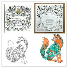 Enchanted Forest Coloring Book Artist Edition Pages Printable