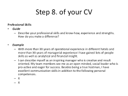 13 - How To Describe Yourself In A Resume Example