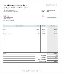 Construction Invoice Template Unique Free Download Sample Independent Contractor Invoice Template Top