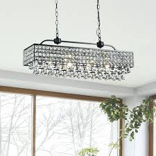 rectangle crystal chandelier the lighting antique black crystal 5 light rectangular chandelier rectangle crystal chandelier uk