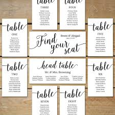 printable seating chart wedding seating chart cards editable seating chart template diy seating cards black wedding instant
