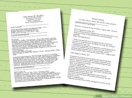 How To Make A Really Good Resume Magnificent 44 Ways To Make A Resume WikiHow