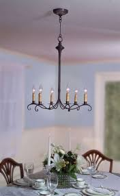 rustic candle chandelier french country chandeliers