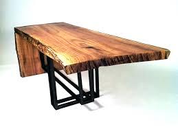 wood slab coffee table for interior decor wood slab coffee table hairpin  legs plus wood slab