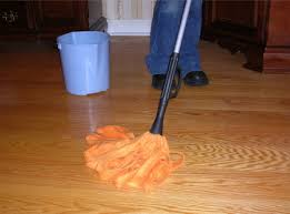 d mopping your hard wood floors