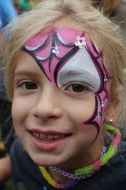 facepainting see more very cool spider girl
