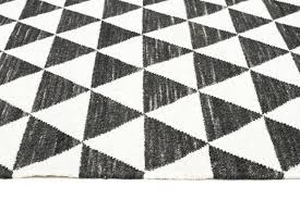 black and white pattern rug black and white geometric area rug
