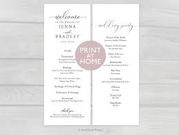 Wedding Booklet Template 007 Wedding Ceremony Booklet Template Free Ideas Il