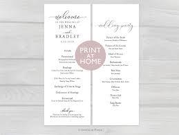 Wedding Ceremony Brochure 007 Wedding Ceremony Booklet Template Free Ideas Il