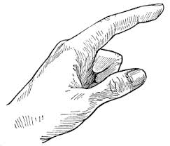 手のイラスト2 ペン画のフリー素材ペンそざ