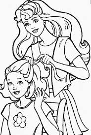 My Family Fun Barbie Doll Coloring Pages Coloring Free Barbie Doll