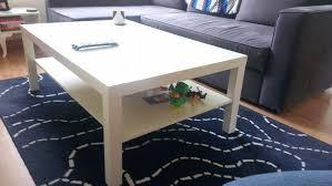 image of white lack table ikea