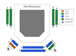 Charles E Smith Center Seating Chart Seating Charts Chesapeake Shakespeare Company
