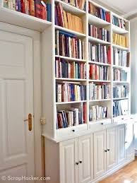 bookcase with doors ikea diy customized billy built ins ikea billy bookcase with doors white t