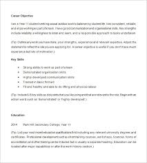 High School Student Resume Gorgeous Example Of Resume For High School Student Fast Lunchrock Co Best