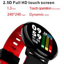 SENBONO <b>S18 Full Touch</b> Screen Smart Watch IP68 waterproof ...