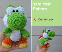 Amigurumi Patterns Free Beauteous Yarn Yoshi Amigurumi Pattern Ami Amour
