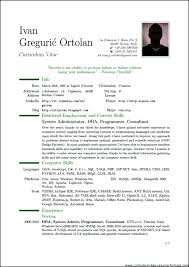 Blank Curriculum Vitae Format For Students Template Print Facile ...