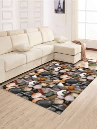 Carpet Mat Design Simple North Europe Style Rug Cobblestone Pattern Floor Mat Living Room Bedroom Carpet