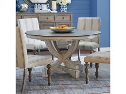 Legends Furniture Laurel Grove Two Tone Pedestal Table Superstore