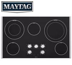 maytag cooktop with logo