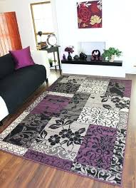 rugs with purple accents small medium modern rugs soft easy clean area rugs with purple accents