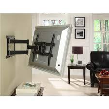 atlantic large articulating 37 to 64 tv wall mount black 63607068 within corner tv bracket decor 14