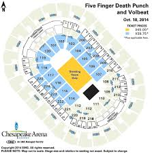 Five Finger Death Punch And Volbeat Chesapeake Energy Arena