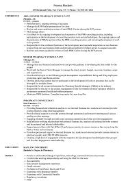 Humana Pharmacist Sample Resume Pharmacy Consultant Resume Samples Velvet Jobs 13