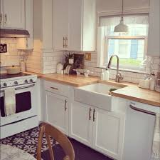 kitchens with white appliances and white cabinets. Via Honey We\u0027re Home Kitchens With White Appliances And Cabinets S