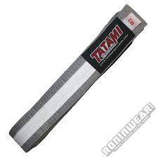 Tatami Belt Size Chart Tatami Ibjjf Kids Rank Belt Grey White