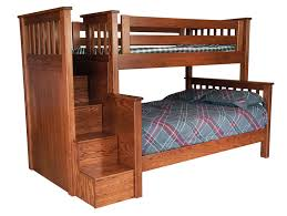 beds with steps. Unique Steps Milleru0027s Mission TwinFull Bunk Bed With Step Unit And Beds With Steps D