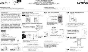 Vrsdc Dimmers User Manual 1 Leviton Manufacturing