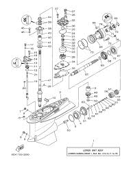 yamaha outboard parts. yamaha outboard 2006 vz225htlr 60y-1005852 lower casing drive 1 parts parts, oem aftermarket